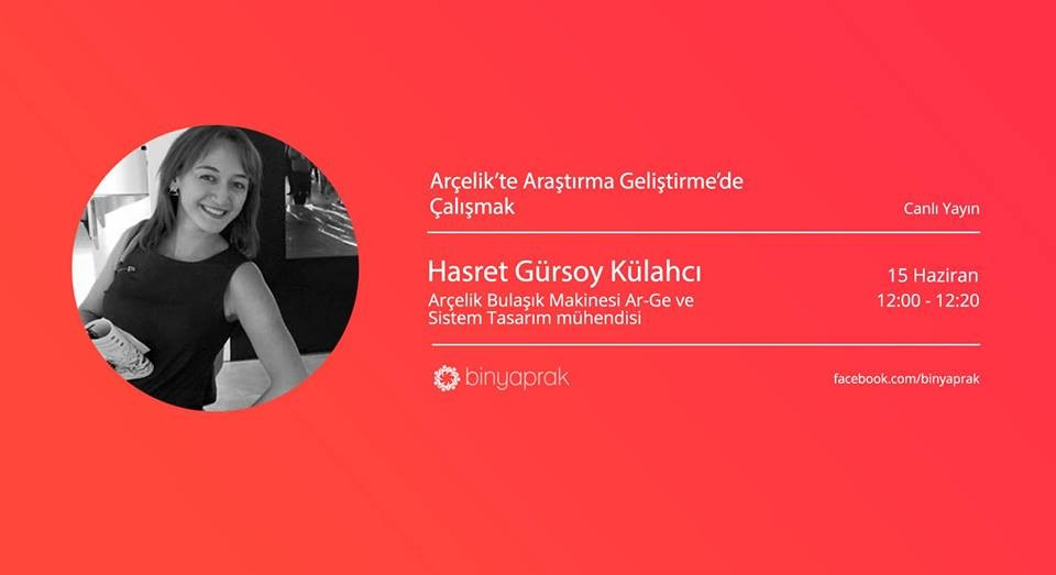 STEAMWIN Online Event: Hasret Gürsoy Külahcı, R&D Systems Design Engineer at Arçelik