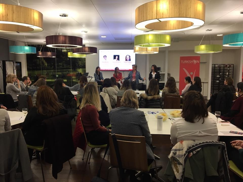 "TurkishWIN@London&Vodafone Co-Panel ""Building Your Personal Brand"""