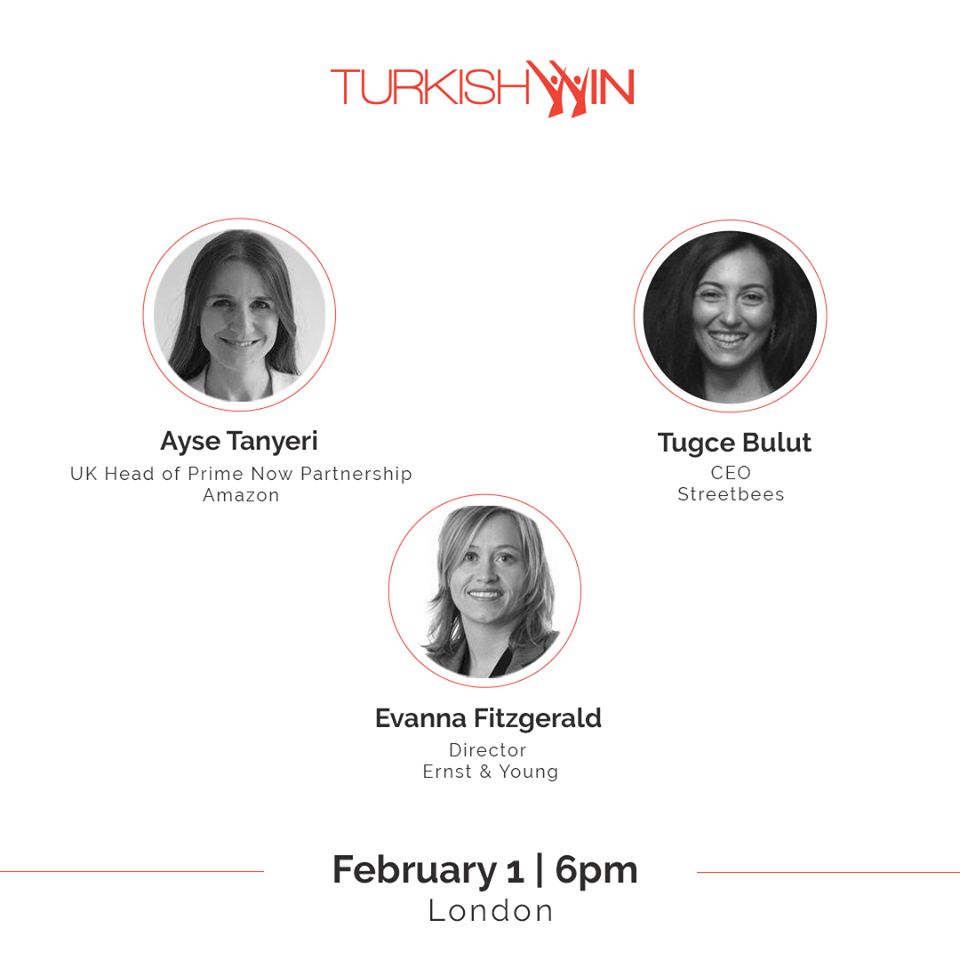 "TurkishWIN@London Learning Circle ""Nonlinear Careers - Managing Change"""