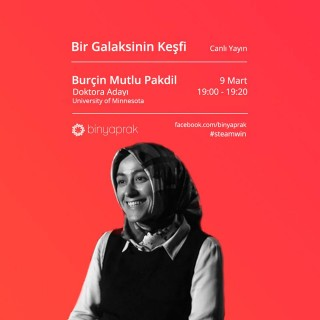STEAMWIN Online Event: Burçin Mutlu Pakdil, Phd Candidate at Minesota University