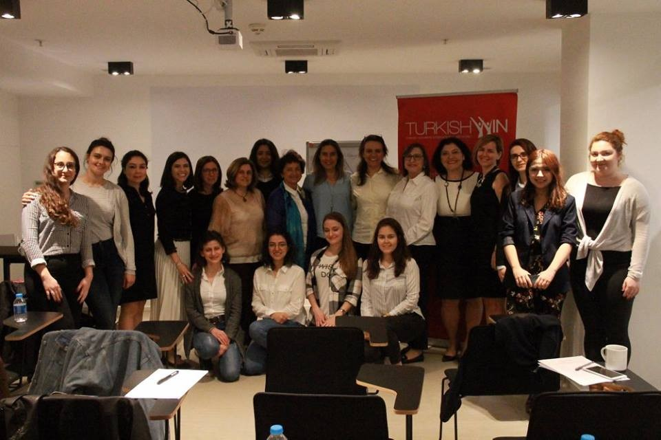 "TurkishWIN@Learning Circle ""Assertiveness"" with Gamze Bayraktaroğlu"