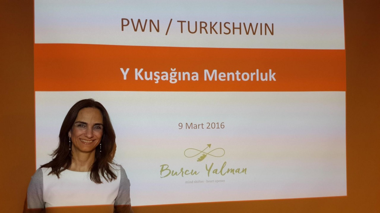 "TurkishWIN Mentoring Learning Circle ""Mentoring Y Generation""  with Burcu Yalman"