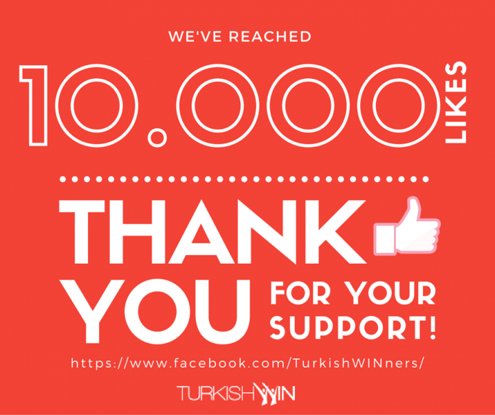 We just hit 10,000 likes on Facebook